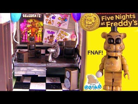 ФНАФ! Офис Золотого Фредди в  Пиццерии Фазбера! Видео для Детей FNAF Мультик от My Toys Potap