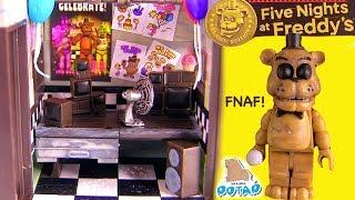 ФНАФ Офис Золотого Фредди в Пиццерии Фазбера Видео для Детей FNAF Мультик от My Toys Potap