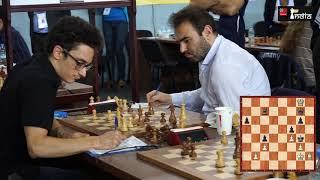 Final moments of Fabiano Caruana against Shakhriyar Mamedyarov | Batumi Olympiad 2018, Round 8