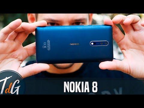 Nokia 8, review en español