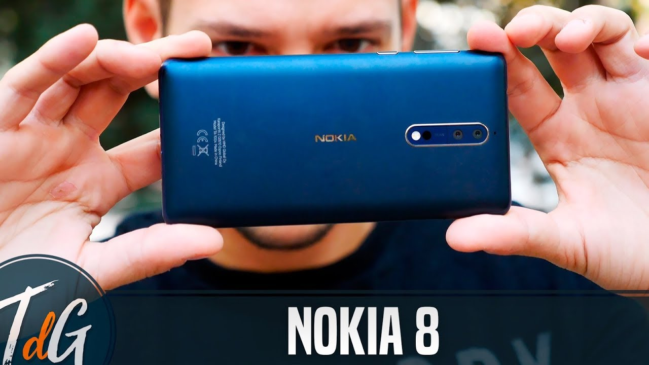 Nokia 8, review en español - YouTube