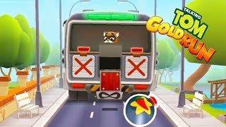Talking Tom Gold Run Gameplay - Boss Update    Android Games   Friction games