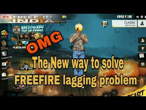 How To Solve Freefire Lagging Problem Freefire Bg Gfi Youtube