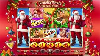 Naughty Santa - Habanero Video Slot