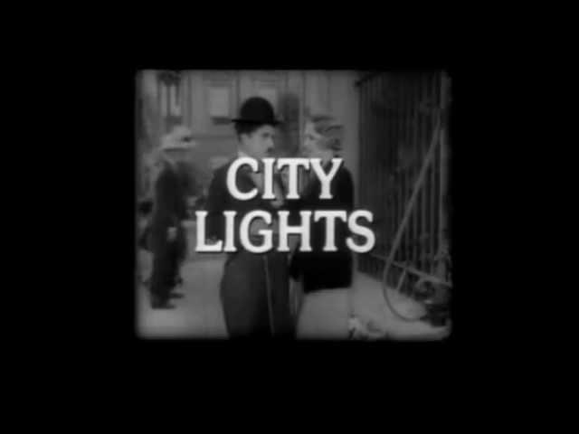 Cinema e prosa - Luzes da cidade - Trailer - 1931 (Charlie Chaplin)