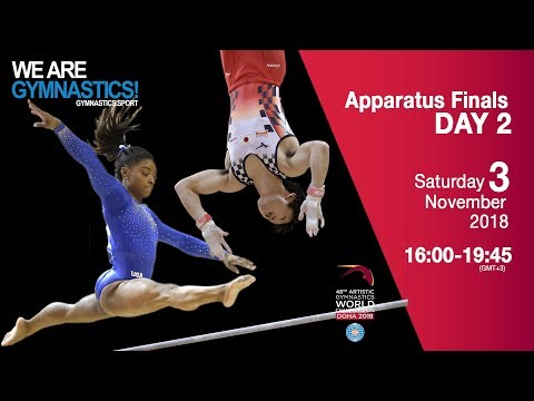 Individual Apparatus Finals - Day 2 - 2018 Doha Artistic Gym Worlds