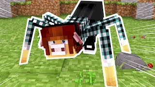 Minecraft: MUTANTE AUTHENTIC ARANHA !!