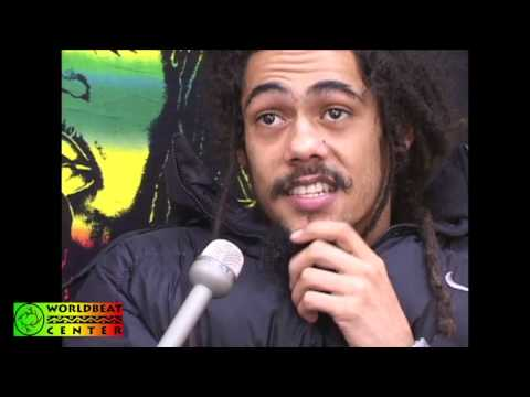 Making of The Reggae Legends - Interview with Damian Marley 2002