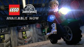 LEGO Jurassic World Game - Official Launch Trailer(It's FINALLY escaped! Watch the official launch trailer for LEGO Jurassic World Game, AVAILABLE NOW. Get it here: http://bit.ly/LJW-GameStop ABOUT LEGO ..., 2015-06-12T13:00:00.000Z)