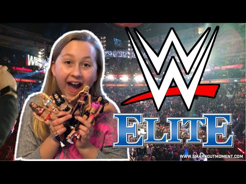 Molly's HUGE WWE Wrestling Figures Collection!