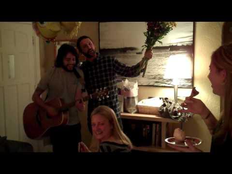 Brian Schaefer and Jorge Angel singing Happy Birth...
