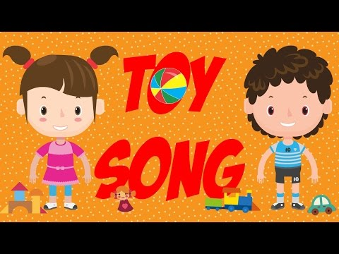 Toy Song | A Simple Song for Kids Learning English | ESL
