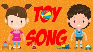 Toy Song   A Simple Song for Kids Learning English   ESL