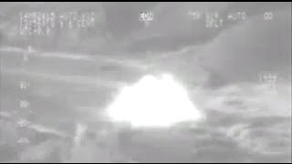Airstrike Footage: Intl coalition hit ISIS targets in Iraq