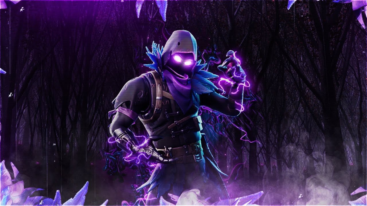 FREE Fortnite Raven Wallpaper - YouTube