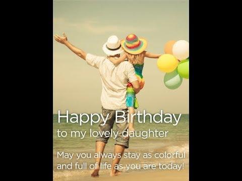 Daughter Birthday Wishes WhatsApp Video