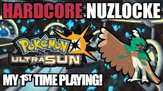 Pokémon Ultra Sun Harḋcore Nuzlocke on my first ever playthrough! (No items, No overleveling)