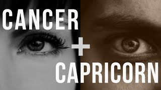 Compatible man Are woman capricorn and cancer