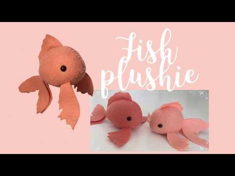 DIY Fish Plushie