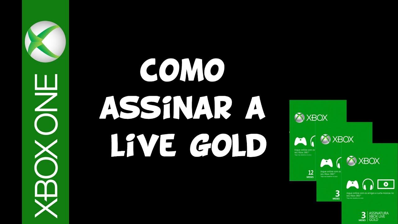 XBOX ONE - Como ASSINAR a LIVE GOLD COM ou SEM cartão de crédito