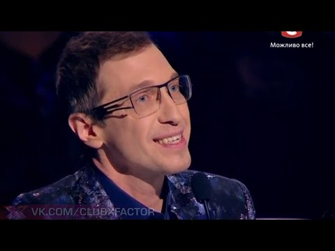 Видео, Х-фактор-5  Сергей Соседов вещает Гала-концерт27.12.2014