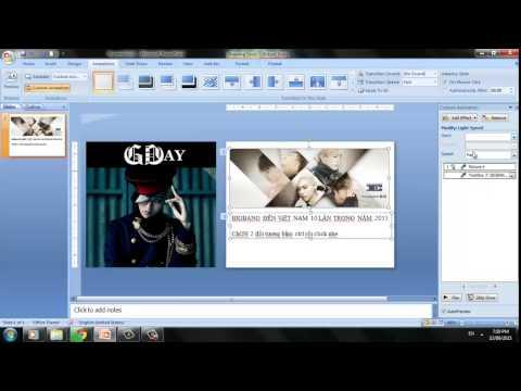 Chèn nhiều ảnh vào 1 slide
