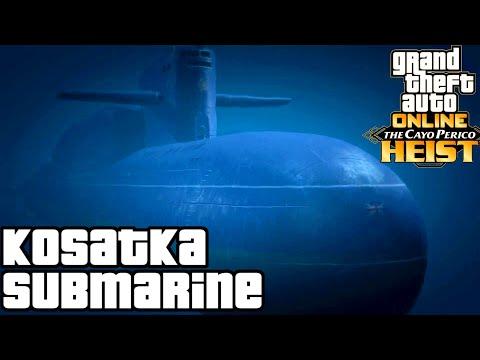 Kosatka (Submarine) GTA Online guides
