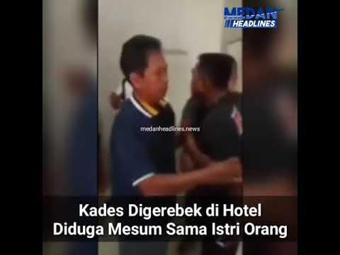 Kades Digrebek Di Hotel Diduga Mesum Sama Istri Orang