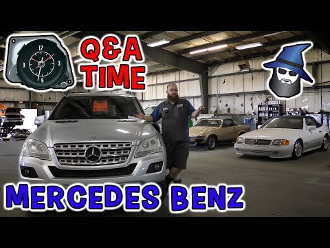 Q & A Mercedes Benz: The CAR WIZARD gets his brain picked by his fans