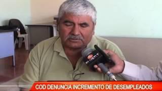 COD DENUNCIA INCREMENTO  DE DESEMPLEADOS