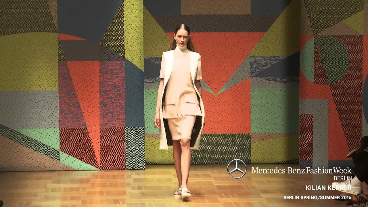 Kilian Kerner Mercedes Benz Fashion Week Berlin Ss2016 Youtube