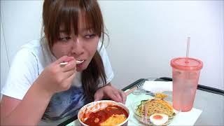 【セブンイレブン】とろとろたまごのトマトソースオムドリア&ミニ冷やし中華【美味しい】 thumbnail