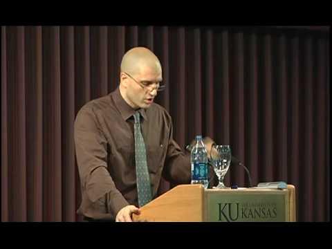 China Mieville at the University of Kansas