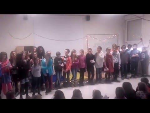film liaison CM2 6ème chants de Noël partie 1
