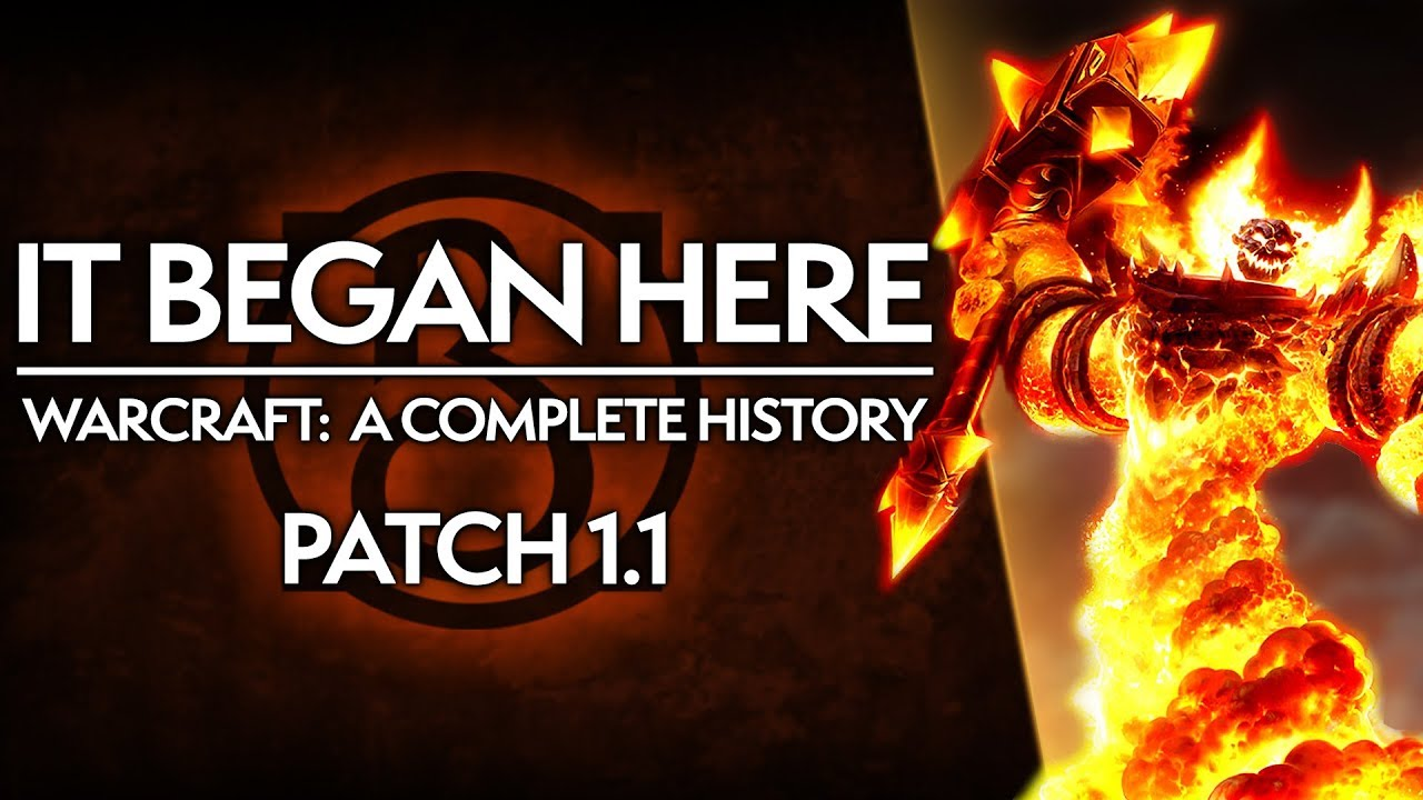 WoW Patch 1.1: The Humble BEGINNINGS of World of Warcraft | Complete History of WoW thumbnail