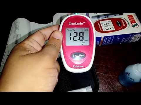 Gluco Leader Enhance Blood Glucose Meter TM
