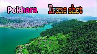 pokhara drone view | Pokhara City Drone shot |  आकाश बाट येस्तो देखिन्छ पोखरा बजार