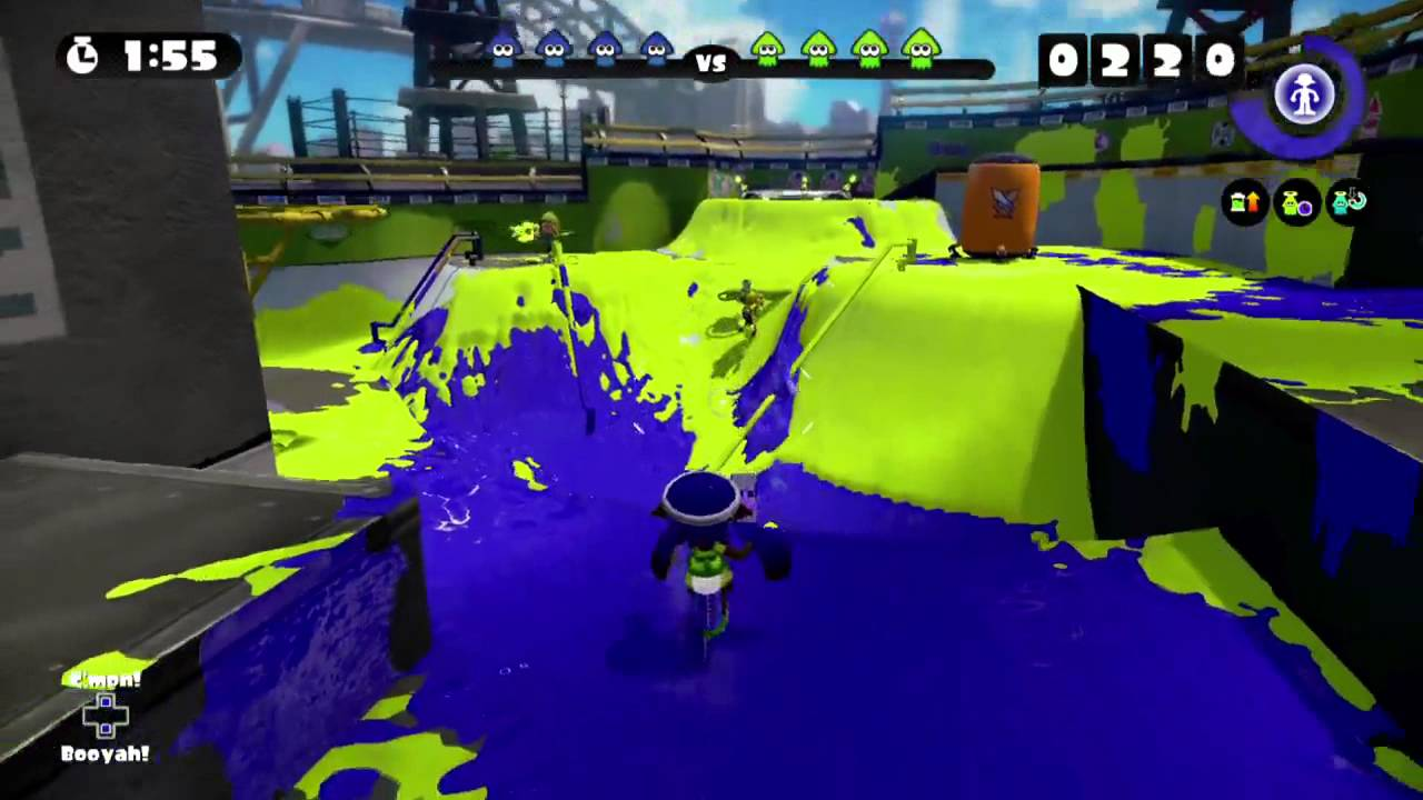 Matchmaking in Splatoon and how it shows the worst in people