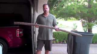 How To Make An Authentic English Longbow: Part 1, From Stick To Stave