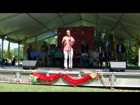 2016-7-9 Site Dedication Ceremony: St. Paul-Changsha China Friendship Garden at Phalen Park