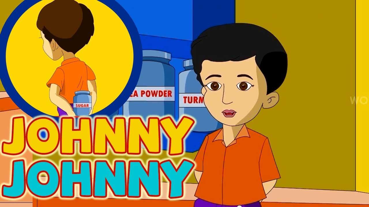 Johnny Johnny Yes Papa  English Nursery Rhymes Animated