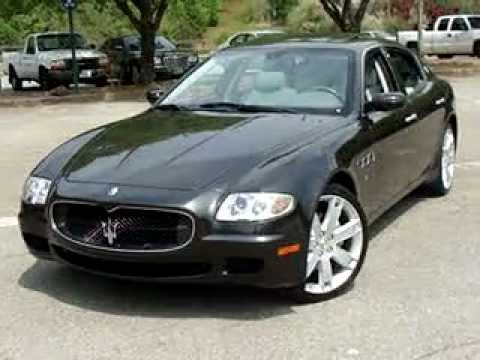 2008 maserati quattroporte sport gt start up used car review youtube. Black Bedroom Furniture Sets. Home Design Ideas