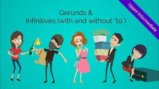Gerunds And Infinitives  Verbs : Fun & Humorous Esl Video To Peak Your Stude