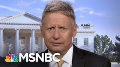 Gary Johnson: 'How About Three Names' On The Poll | MSNBC