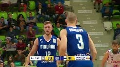 Antti Kanervo Highlights 2018, Finnish National Team/ Korisliiga