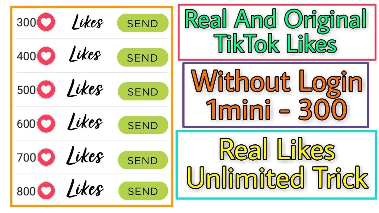 Tiktok Auto Liker Get Free Tik Tok Auto Likes Auto Liker App How To Increase Tiktok Follower Youtube