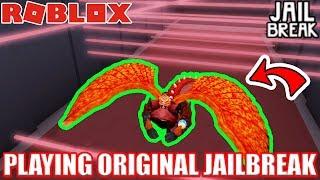 GIOCA GIORNO 1 VERSIONE di JAILBREAK!!! | Roblox Jailbreak Retro Sfida