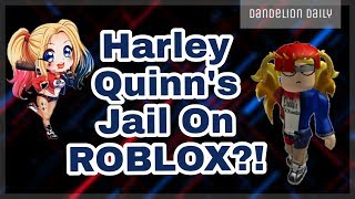 HARLEY QUINN'S JAIL ON ROBLOX?!