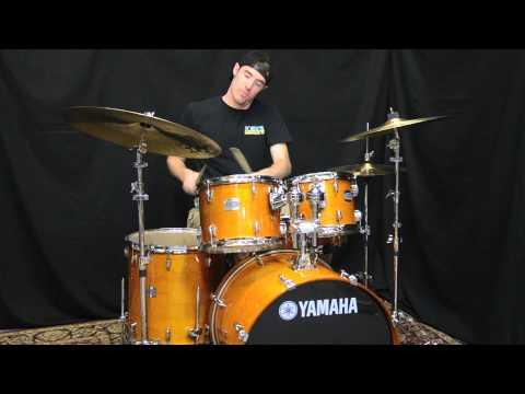 Yamaha Stage Custom Maple 5 Piece Drum Set Youtube