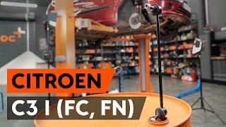 Montavimo gale kairė Pasukimo trauklė CITROËN C3 I (FC_): nemokamas video